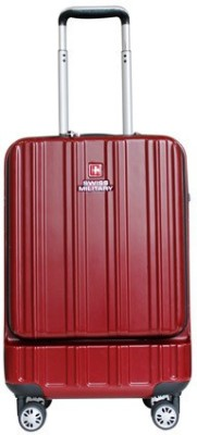 Swiss Military MAGICA SERIES POLYCARBONATE CABIN SIZE HARD TOP LUGGAGE Cabin Luggage   20 inch Swiss Military Suitcases