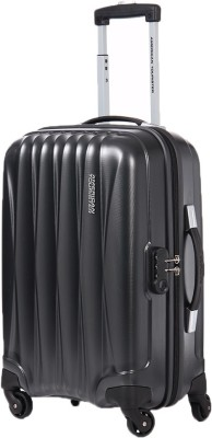 American Tourister Arona + SP Cabin Luggage   55 cm   Black  American Tourister Suitcases