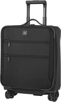 Victorinox 20X Dual-Caster Expandable  Cabin Luggage - 20 inch(Black) at flipkart