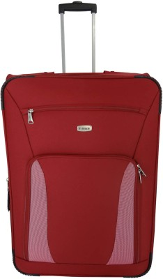 aa43e6d8b 48% OFF on Timus Morocco Upright Expandable Check-in Luggage - 29 inch(Red)  on Flipkart | PaisaWapas.com