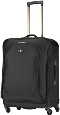 Victorinox 24 Inch HYBRI-LITE Expandable  Check-in Luggage - 24 inch(Black) at flipkart