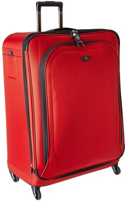 Victorinox Hybri Lite Ultra Light Upright Expandable Check in Luggage   24 inch Red