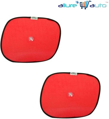 Allure Auto Side Window Sun Shade For Hyundai Verna Fluidic(Red)  available at flipkart for Rs.149