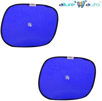 Allure Auto Side Window Sun Shade For Hyundai Verna Fluidic(Blue)  available at flipkart for Rs.149