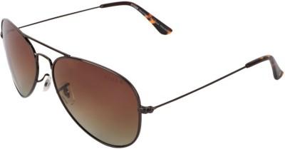 Xross Aviator Sunglasses(Brown) at flipkart