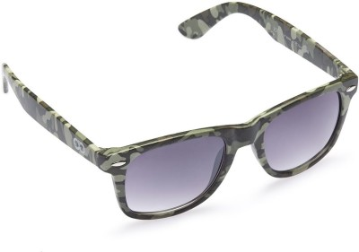 Gio Collection Wayfarer Sunglasses(Grey) at flipkart