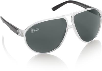 FIFA FB-S-111 Aviator Sunglasses(Black) at flipkart