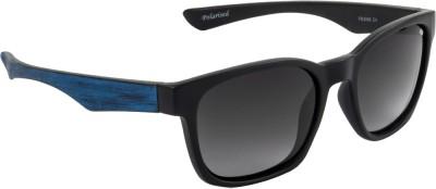 Funky Boys Wayfarer Sunglasses(Grey) at flipkart