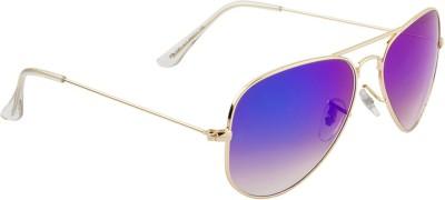 Farenheit Aviator Sunglasses(Blue) at flipkart