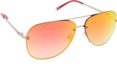 Tommy Hilfiger Aviator Sunglasses(Multicolor) at flipkart