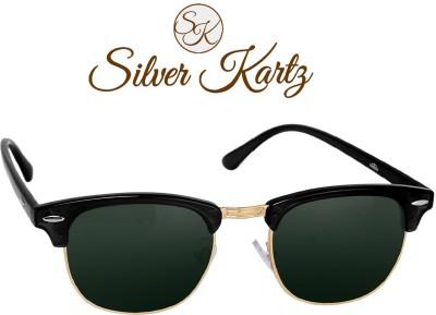 bd9fc1e61d Silver Kartz Wayfarer Sunglasses(Green) Lowest Price in Cherthala ...
