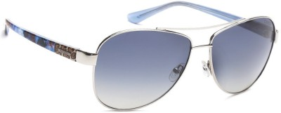 Guess Aviator Sunglasses(Blue) at flipkart