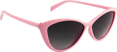 Farenheit Cat-eye Sunglasses(Grey) at flipkart