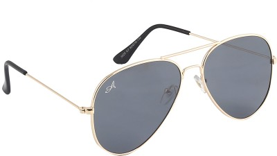 Amaze Aviator Sunglasses(Black)