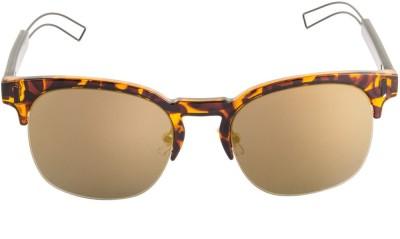 Farenheit Wayfarer Sunglasses(Golden) at flipkart