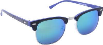 Gansta Wayfarer Sunglasses(Multicolor) at flipkart