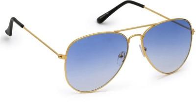 0faaf83f4405a 81% OFF on Azmani Aviator Sunglasses(Silver) on Flipkart ...