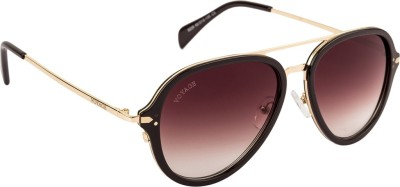 Voyage Aviator Sunglasses(Brown) at flipkart