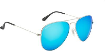O Positive Aviator Sunglasses(Blue) at flipkart