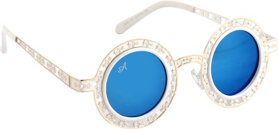Amaze Round Sunglasses(Blue)