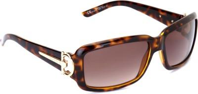GUCCI GG 3097/S V08 Rectangular Sunglasses(Brown) at flipkart