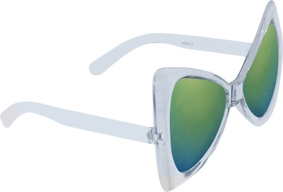 KEA Over-sized Sunglasses(Green) at flipkart
