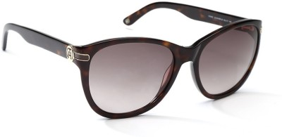Tommy Hilfiger Cat-eye Sunglasses(Brown) at flipkart