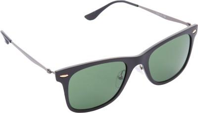 Cristiano Ronnie Wayfarer Sunglasses(Green) at flipkart