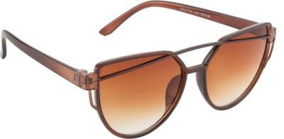 Glitters Wayfarer Sunglasses(Brown) at flipkart