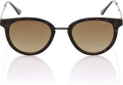 IDEE Round Sunglasses(Brown)