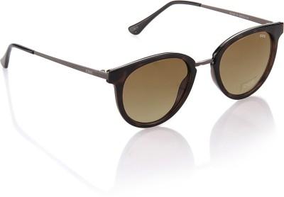 IDEE Round Sunglasses(Brown)