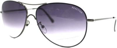 Kenneth Cole Aviator Sunglasses(Grey, Clear) at flipkart