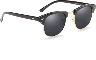 Chemistry CM828C1 Wayfarer Sunglasses(Black) at flipkart