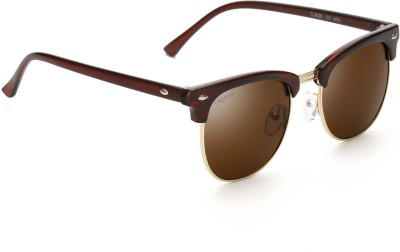 Rapstar VIRAJTRENDS07 Wayfarer Sunglasses(Brown) at flipkart