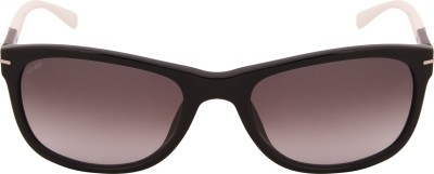 Tommy Hilfiger TH 7948 Blk/Wht C1 57 S Wayfarer Sunglasses(Brown) at flipkart