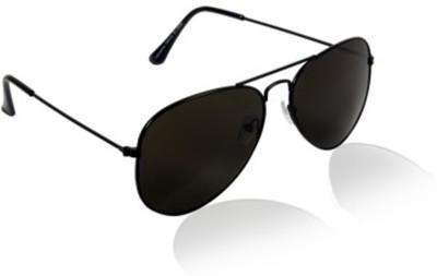 A K Daller Fashion Aviator Sunglasses(Black)