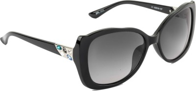 Farenheit Over-sized Sunglasses(Grey) at flipkart
