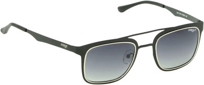 IMAGE Rectangular Sunglasses(Black)