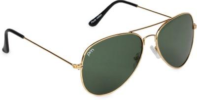 Pede Milan Aviator Sunglasses(Green)