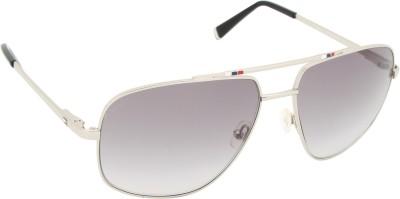 Tommy Hilfiger TH 7965 Blk/Grey C3 S Rectangular Sunglasses(Grey) at flipkart