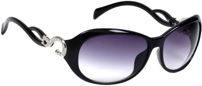 Eyeland Oval Sunglasses(Violet) at flipkart