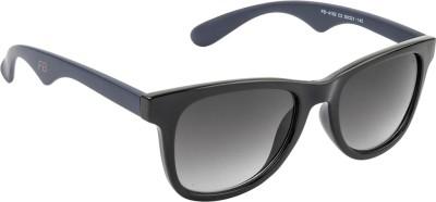 Funky Boys Wayfarer Sunglasses(Blue) at flipkart