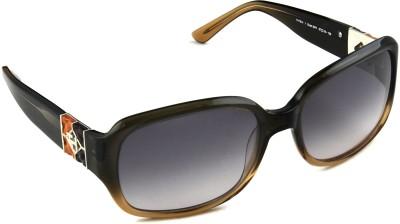 Tommy Hilfiger Rectangular Sunglasses(Grey) at flipkart
