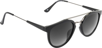 Superman Round Sunglasses(Grey) at flipkart