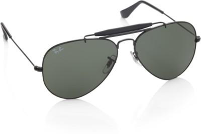 Ray-Ban Aviator Sunglasses(Green)