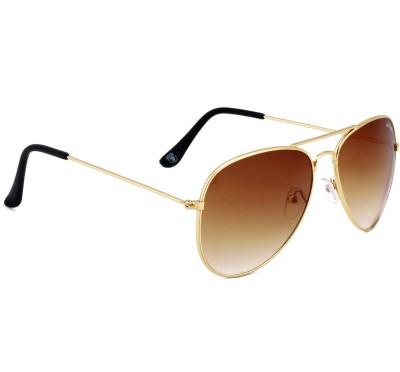 a358a0b6ae5 73% OFF on Royal Son Aviator Sunglasses(Brown)