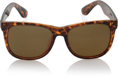 Peter England Wayfarer Sunglasses(Brown)