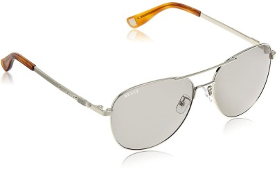 Bally Oval Sunglasses(Grey) at flipkart