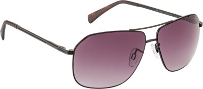 Farenheit Rectangular Sunglasses(Violet) at flipkart