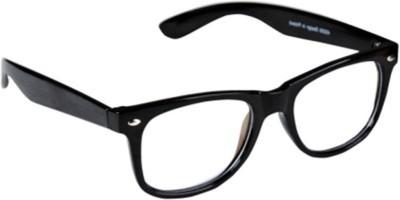 Cruze Wayfarer Sunglasses(Clear)